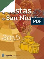 Programa Completo Fiestas de San Nicasio 2015