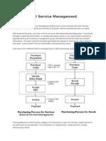 SAP External Service Management