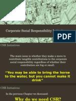 CSR INitiatives