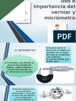 Vernier y micrometro-uso e importancia