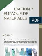 Preparacion y Empaque de Materiales