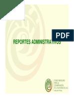 Como Entregar Reportes Admnistrativos MA