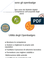 Informazioni openbadges