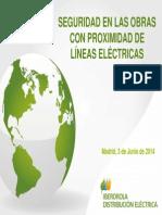 5 Seguridad en Las Obras Con Proximidad de Lineas Electricas Iberdrola Fenercom 2014