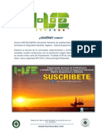 Brochure Hse Ecuador