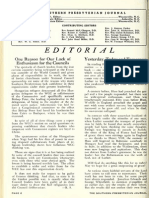 Gordon H. Clark - Yesterday, Today and Tomorrow - the Southern Presbyterian Journal