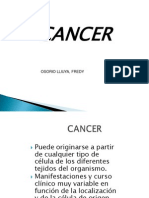 Cancer y Diabetes Clases
