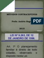 Aula Sobre Contraceptivos 2015