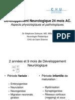 Developpement Neurologique 24 mois