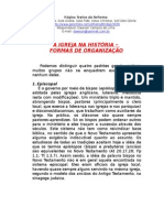 FORMAS DE ORGANIZAÇÃO DA IGREJA.doc