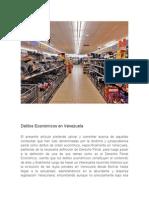 Delitos Económicos en Venezuela
