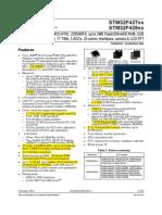 STM32F429 datasheet