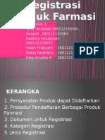 Kelompok 3 - Registrasi Produk Farmasi