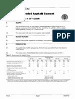 M 20-70 (2004) Penetration-Graded Asphalt Cement