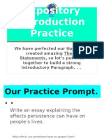 expository introduction practice9-29
