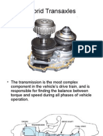Hybrid Transaxles and Transmissions