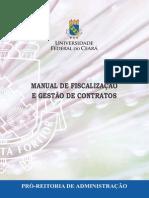 Manual de Fiscalizacao de Contratos UFC  - 2014-10-31
