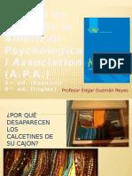 Formato y Estilo APA. Profe ÉDGAR 2