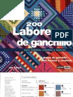200 Labores de Ganchillo1