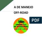 Guia de Manejo Off Road