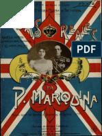 Marquina, Pascual - Bodas Reales Marcha Sobre La Marcha Real Española y El Himno Inglés