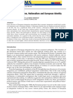 European Integration, Nationalism and European Identity