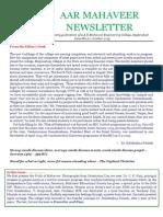 [20] AAR Mahaveer Newsletter October 2015