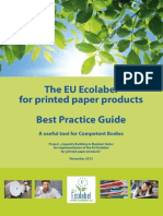 Best Practice Guide Printed Paper