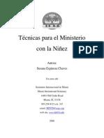 Tecnicas Ministerio Niñez