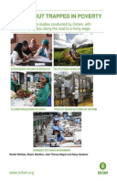 In Work But Trapped in Poverty: A summary of five studies conducted by Oxfam, with updates on progress along the road to a living wage