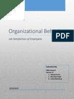 OB Project_Employee Job Satisfaction