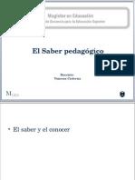 Introducción Al Saber Pedagógico