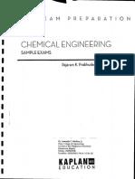 Chemical Engineering Sample Exams Prabhudesai