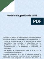 Modelo de Gestion de La Rs