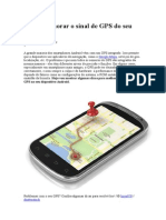 Como Melhorar o Sinal de GPS Do Seu Android