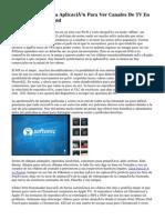 You Player Pro, Una Aplicación Para Ver Canales De TV En Español En Android