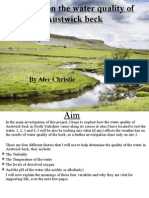 Alec Austwick Beck Water quality.ppt