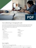 Adblocking goes mainstream - PageFair and Adobe 2014 report