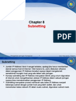 Chapter 8 - Subnetting