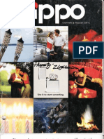 2000 Zippo Lighter Catalog