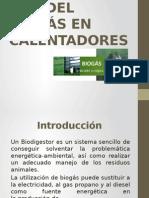 Uso de Biogas