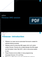 Fitnesse SMD Session