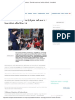 Montessori, 10 Principi Per Educare i Bambini Alla Libertà - Nostrofiglio