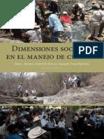 Dimensiones Sociales en El Manejo de Cuencas