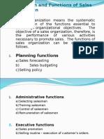 Sales Organization