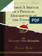 Cosmos - A Sketch of Physical Description of the Universe - Alexander Von Humboldt - Volume 6