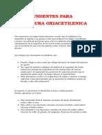 Fundentes Para Soldadura Oxiacetilenica