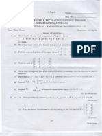 Calicut University BTech Solved Question Papers Third Semester B Tech CSE/IT