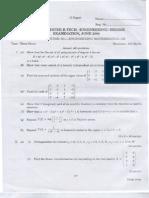 Calicut University BTech Solved Question Papers Third Semester B Tech CSE/IT