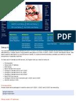 Setup Kamailio IMS Servers (P-CSCF